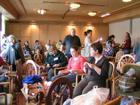 Strick- und Spinntreffen 2007